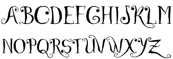 Czech Tales Personal Use Only Font UPPERCASE