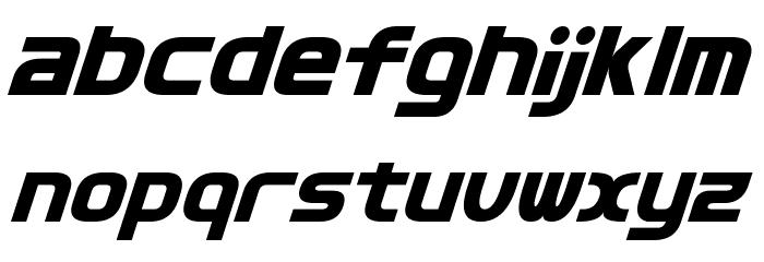 D3 Cozmism Oblique Шрифта строчной