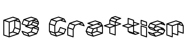D3 Craftism  Free Fonts Download