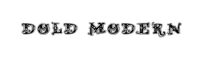 D_OLD MODERN 2  नि: शुल्क फ़ॉन्ट्स डाउनलोड