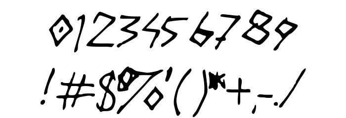 DAILYROUTINE Шрифта ДРУГИЕ символов