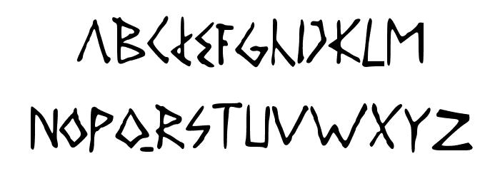 DAILYROUTINE Шрифта строчной
