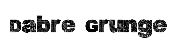 Dabre Grunge Font Comments - free fonts download