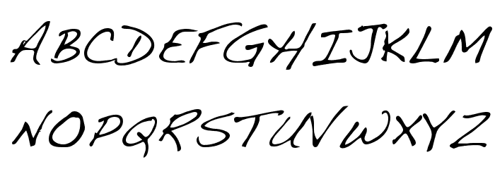 Dakota Regular Font UPPERCASE