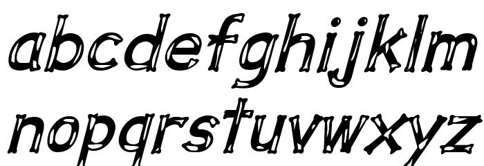 Dalmata Dream Bold Italic Font LOWERCASE