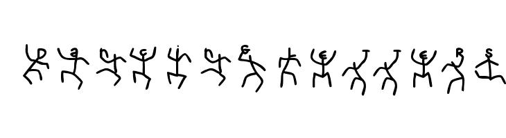 DancingLetters  Free Fonts Download