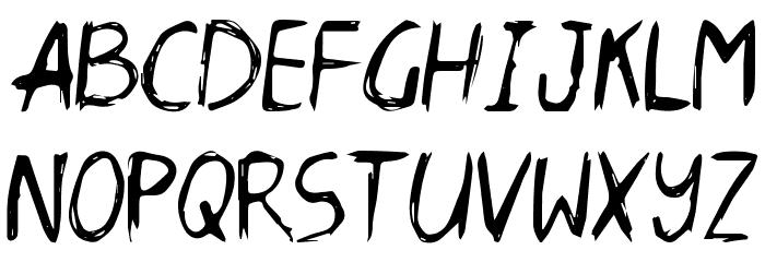 Daneehand Demo Schriftart Groß