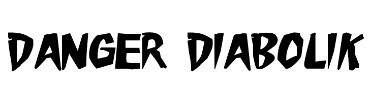 Danger Diabolik  Free Fonts Download