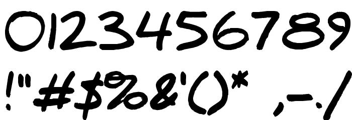 Daniel Black Font OTHER CHARS