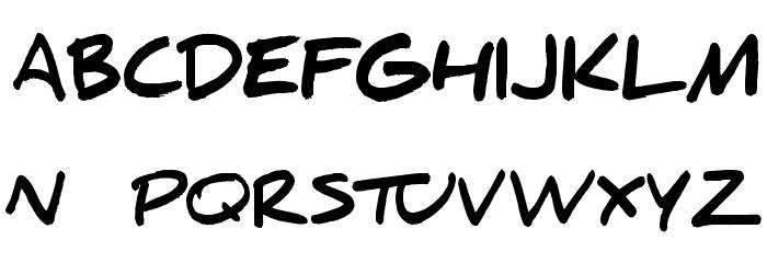 Daniel Black Font UPPERCASE