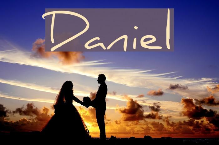 Daniel फ़ॉन्ट examples