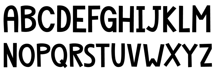 Dapplegrim DEMO Regular Font UPPERCASE
