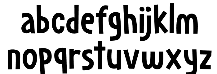Dapplegrim DEMO Regular Font LOWERCASE