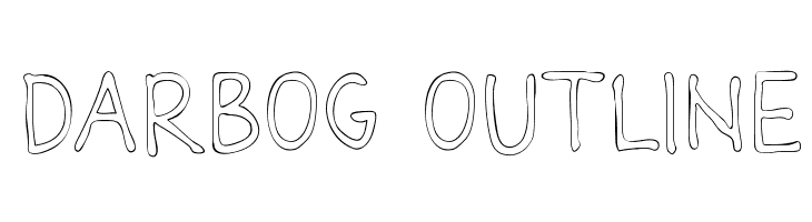 Darbog outline  baixar fontes gratis