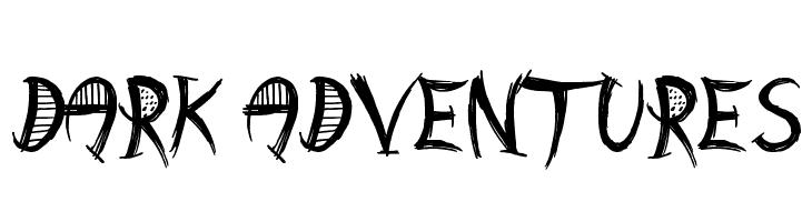 Dark Adventures  Free Fonts Download