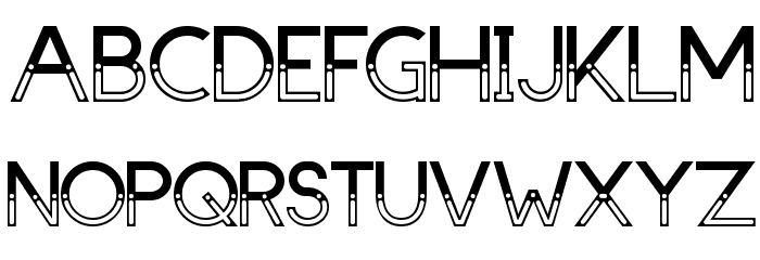 Dark Bastion Font UPPERCASE