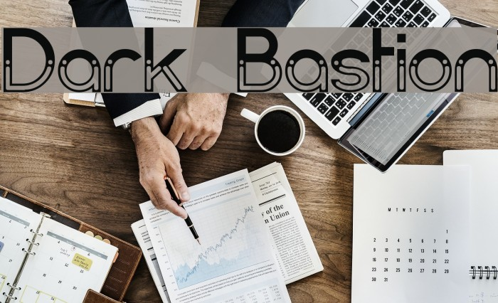 Dark Bastion Fonte examples