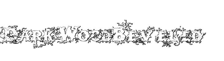 DarkWoodBeveled  Скачать бесплатные шрифты