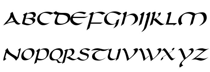 Darwycke Regular Font UPPERCASE