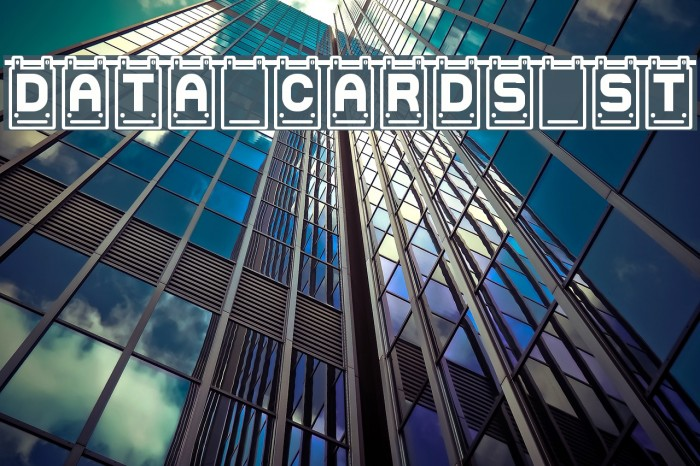 Data Cards St Fonte examples