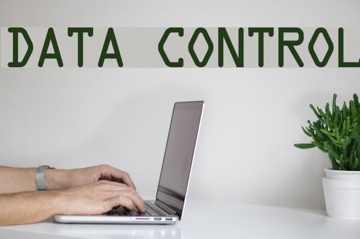 Data Control Fuentes examples