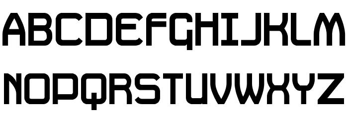Daville Font UPPERCASE