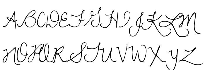 DawningofaNewDay Font UPPERCASE