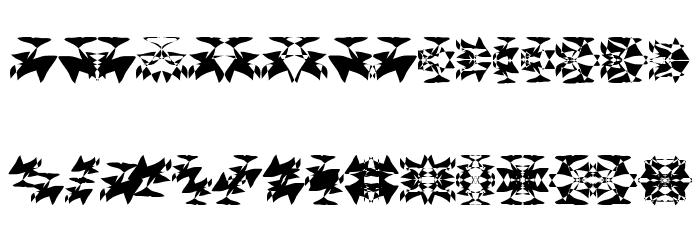 Daymares Шрифта строчной