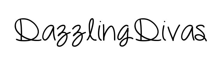 DazzlingDivas  Free Fonts Download
