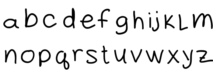 daddy Font LOWERCASE