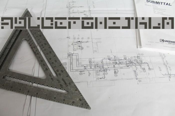 DBE-Nitrogen Font examples