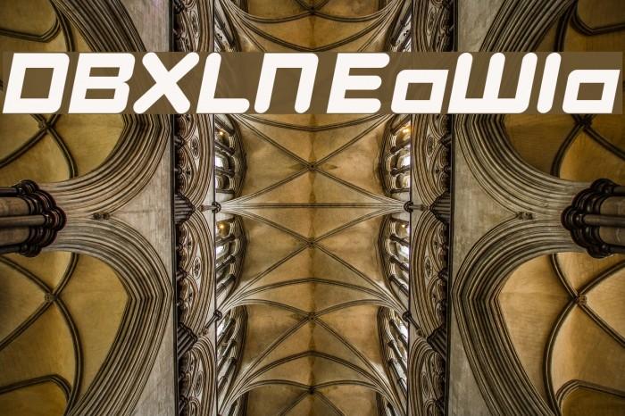 DBXLNightfever ExtraWideItalic لخطوط تنزيل examples