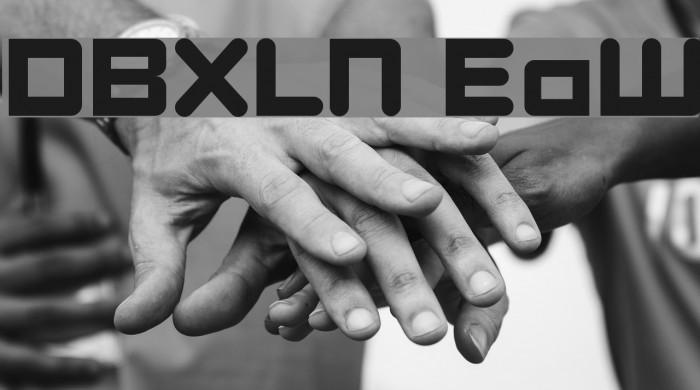 DBXLNightfever ExtraWide Font examples