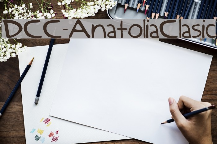DCC-AnatoliaClasic Fonte examples