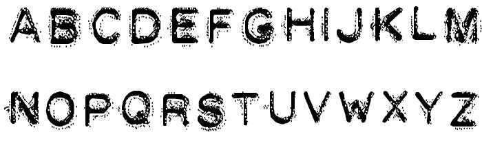 DEATH STRUGGLE Шрифта строчной