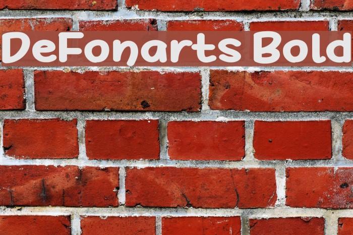 DeFonarts Bold Fuentes examples