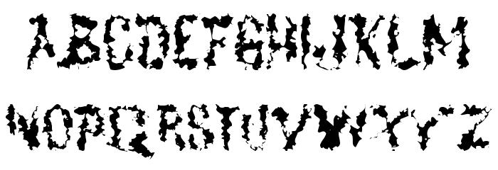 DeadGrit Fonte MAIÚSCULAS