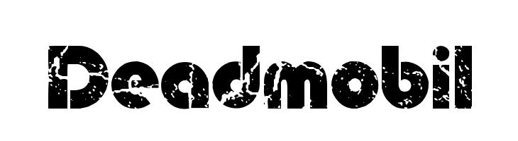 Deadmobil  नि: शुल्क फ़ॉन्ट्स डाउनलोड