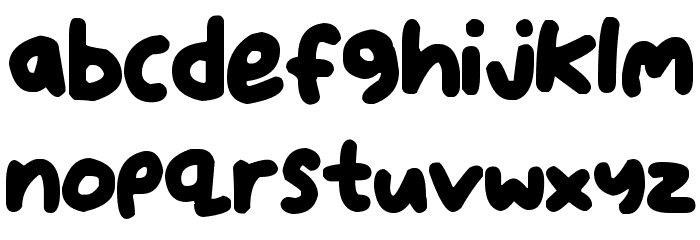 Dear Santa Шрифта строчной