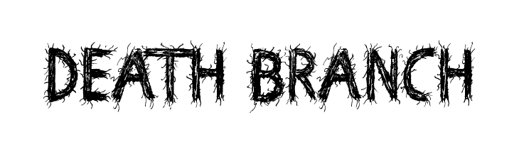 Death Branch  Frei Schriftart Herunterladen