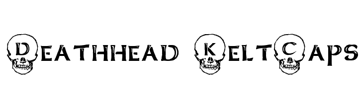 Deathhead KeltCaps  Free Fonts Download