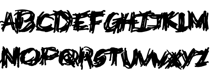 Deathtrap DEMO Font LOWERCASE