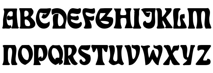 DeauvilleSSK Bold Font UPPERCASE