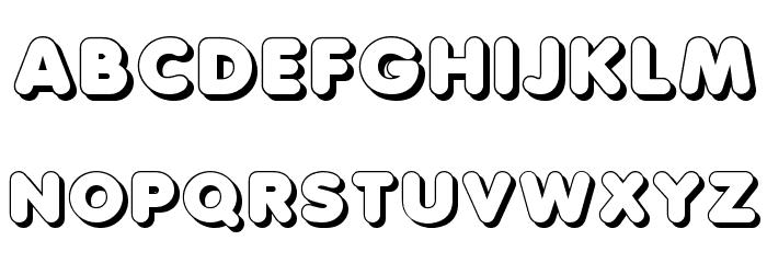 Debussy Shadow Fonte MAIÚSCULAS