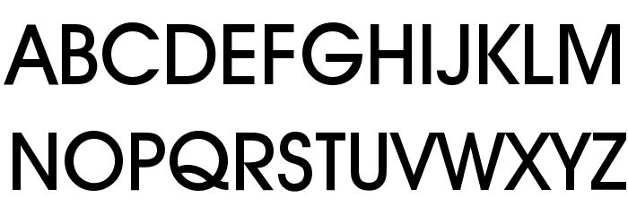 Decker-Bold फ़ॉन्ट अपरकेस