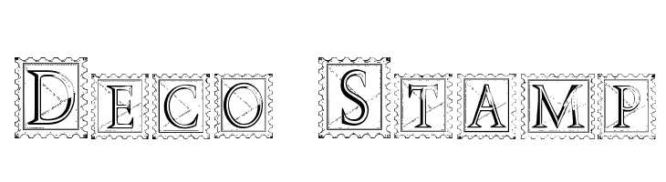 Deco Stamp  Free Fonts Download