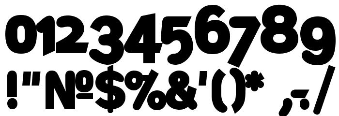 DeconStruct-Black Font OTHER CHARS