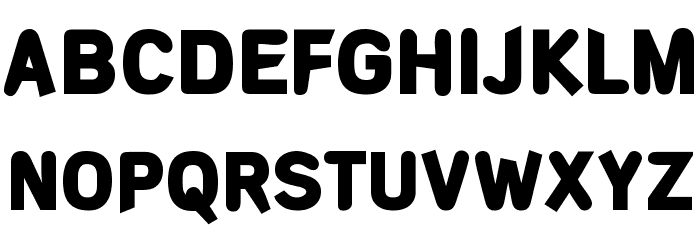 DeconStruct-Black フォント 大文字