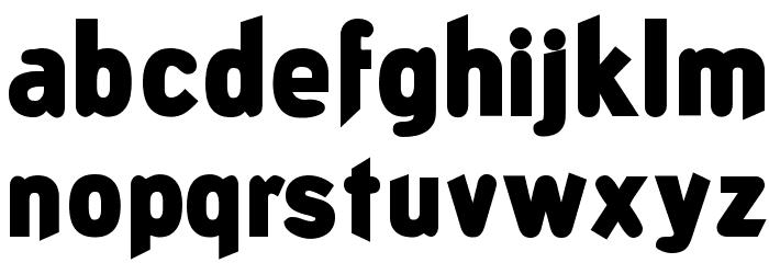 DeconStruct-Black Font LOWERCASE