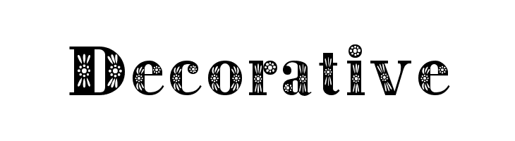 Decorative Font Free Fonts Download